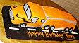 18 Wheeler Semi Truck Cake