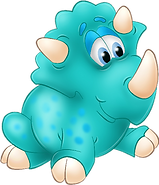Cute Dino Clipart 01 png