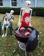 Grilling Skeleton