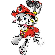 Paw Patrol Marshall Clipart 3 png