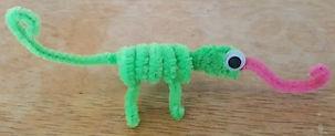 Pipe Cleaner Chameleon Iguana Geeko