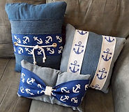 Nautical Denim Pillows