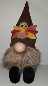 Turkey Hat Gnome