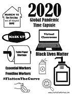 2020 Time Capsule Printable 1