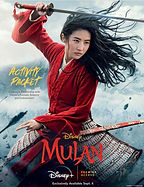 Mulan Live Action Activity Pack