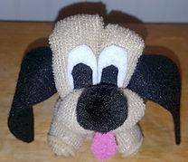Wash Cloth Puppy Dog