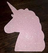 Pink Unicorn Plaque