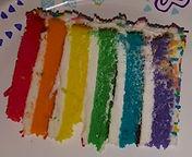 Cake Boss Rainbow Cake Slice