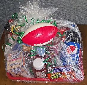 Super Bowl Prize Basket