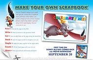 Dumbo Make Your Own Scrapbook Printable