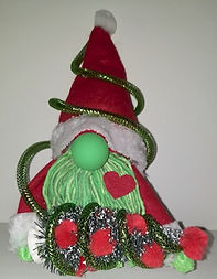 Grinch Gnome Stealing Christmas
