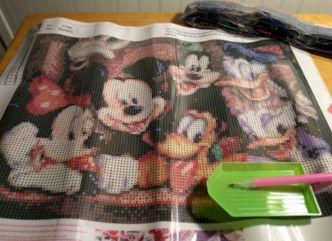 Mickey Mouse FamilyDiamond Painting