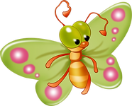 Cute Butterfly 02 png