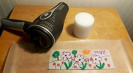 Mother's Day Add a Picture to a Candle Supplies Needed