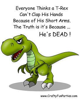Cant Clap Hands Dead Dinosaur Meme
