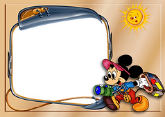 Mickey Mouse Picture Frame 3