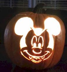 Vampire Mickey MousePumpkin