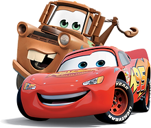Cars Lightning and Mater Clipart