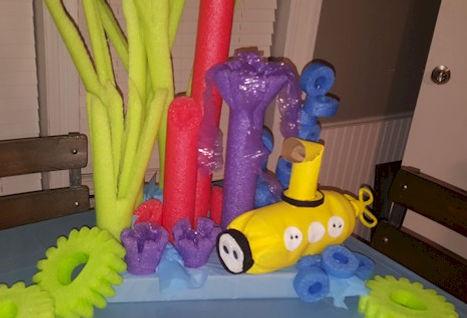 ⦁Octopus Garden Beatles Yellow Submarine