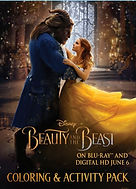 Beauty and the Beast  Live Action  Activity Pack