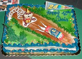 Taz Jeff Gordon Cake