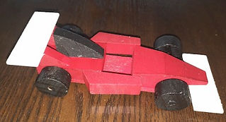 Dollar Tree Make and Play Racecar