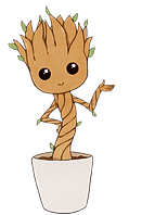 Baby Groot Clipart png