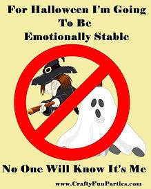 Emotionally Stable Halloween Meme