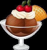 Ice Cream Sundae Clipart