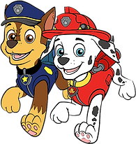 Chase and Marshall Clipart 2 png
