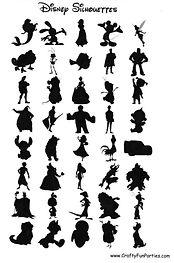 Disney Silhouettes Shadows