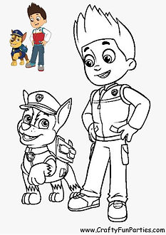 Paw Patrol Color Chase and Ryder