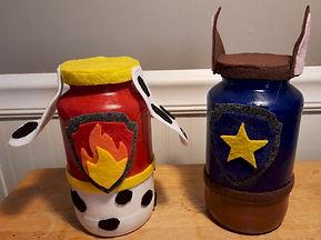 Marshall and Chase Glass Jars