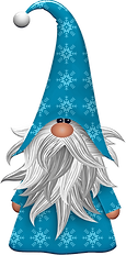 Blue Gnome Clipart.png