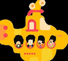 Beatles Yellow Submarine Clipart