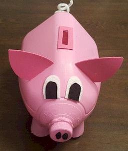 Piggy Bank Milk Jug