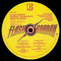 Flash Gordon Record Label