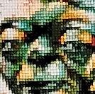 Yoda Diamond Painting Close Up