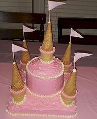 Castle Cake Ice Cream Cones