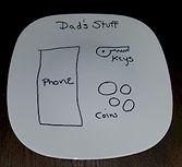 Dads Stuff Custom Plate