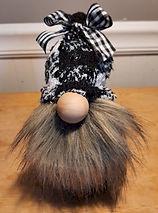 Sock Hat Gnome Buffalo Plaid