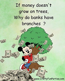 Money doesnt Grow On Trees Meme