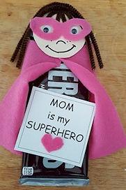 Superhero Mom Candy Craft