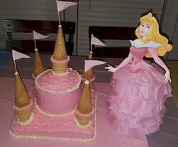 Castle Cake Princess Aurora