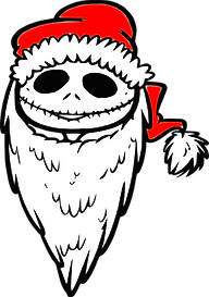 Nightmare Before Christmas Jack Clipart