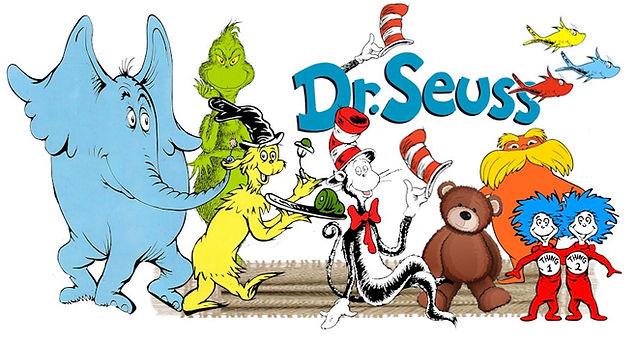 Dr Seuss Page Logo