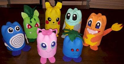 Pokemon Craft Pop Bottles DIY