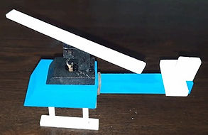 Dollar Tree Make and Play Helicopter