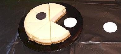 80s Theme Pac Man Cheesecake