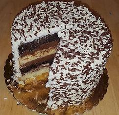 cake Boss Black and White Cake